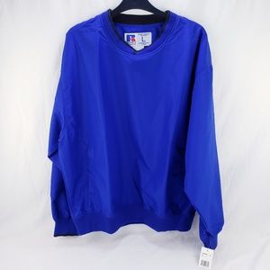 Russell Athletic Jackets & Coats - Men's Russell Athletic Pullover Jacket Blue Large